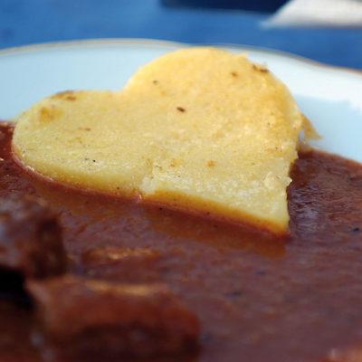Polenta Kulinarik Essen Trinken